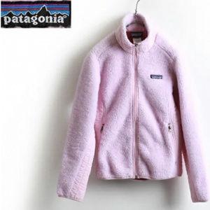 Pink Patagonia fleece